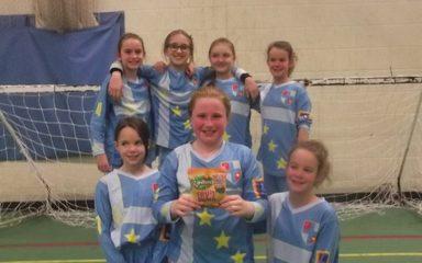 Triumphant Girls Football