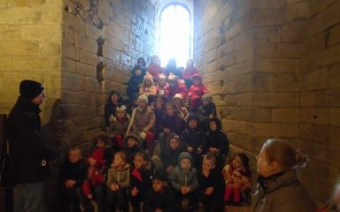 Class 1 at the Castle Keep