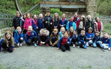 Cragside with Class 2