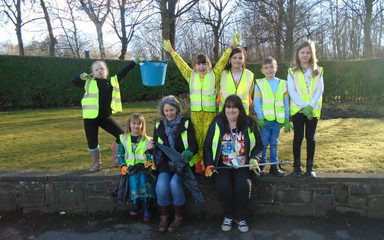 Eco Warriors Litter Pick!