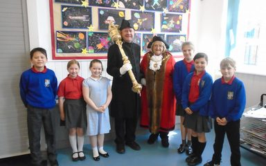 Major Dillon Visits our School council