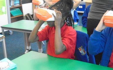 Virtually Under the Sea in Year 5!
