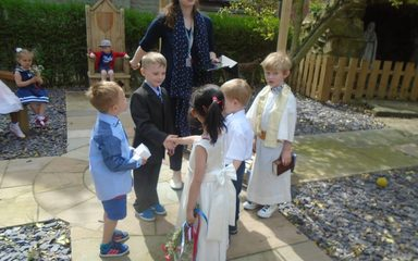 A Right Reception Royal Wedding!