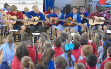 Music Assembly – Guitars!