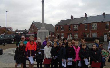 Dunston Schools Remembrance Service