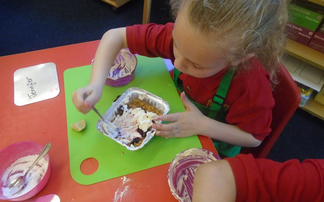 Fun Little Foodies in Year 1