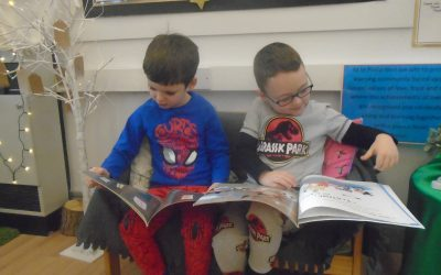We Love Reading in Reception!