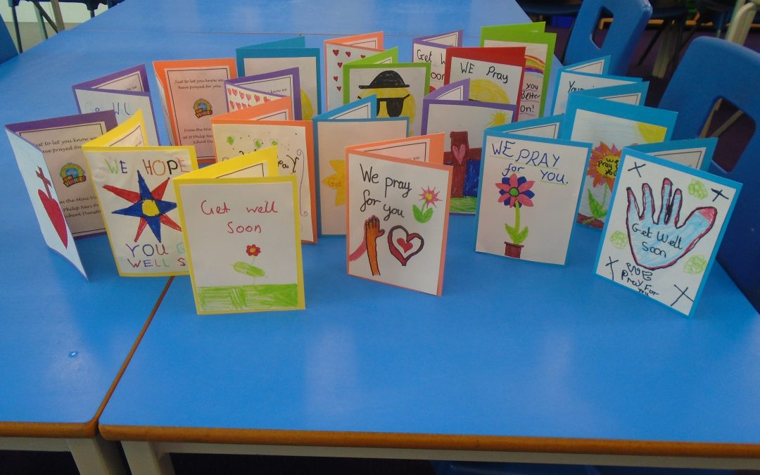 Mini Vinnies Prayer Cards