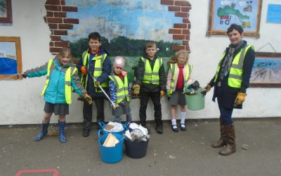 Litter pickers clean sweep!