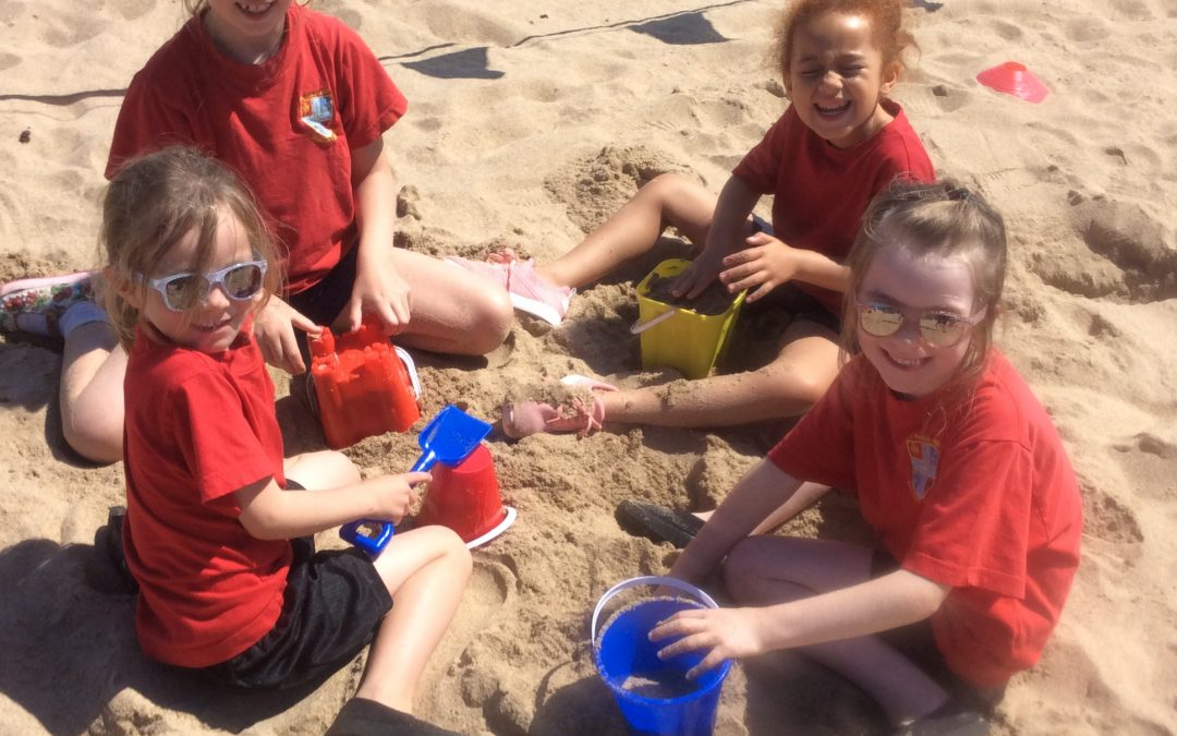 Beach Sports Day for St Philip Neri!