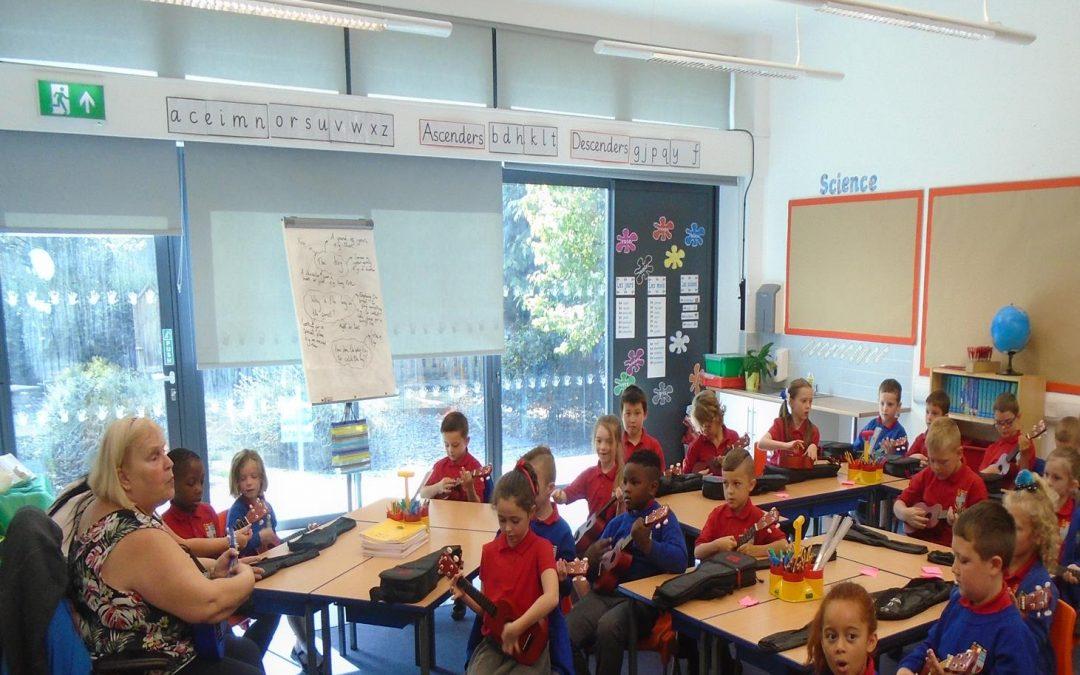 Music in class 3